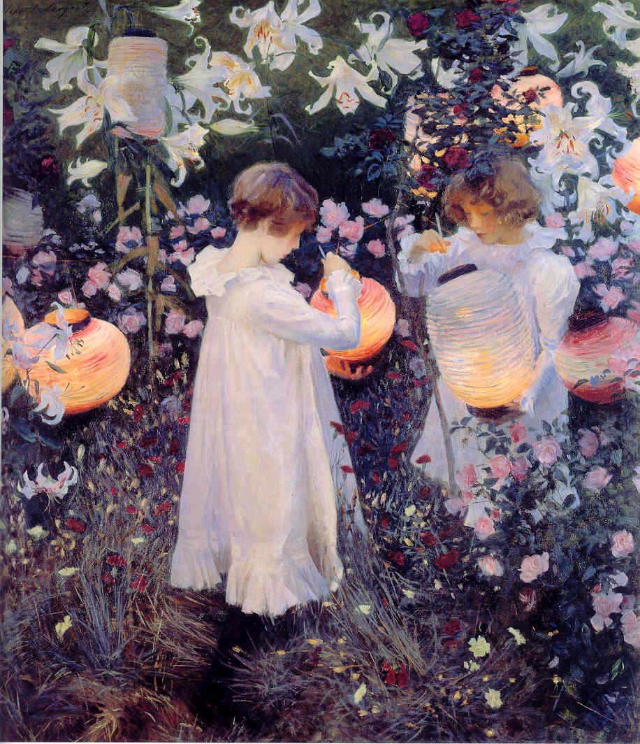 """""""Carnation, Lily, Lily, Rose"""" by John SingerSargent"""