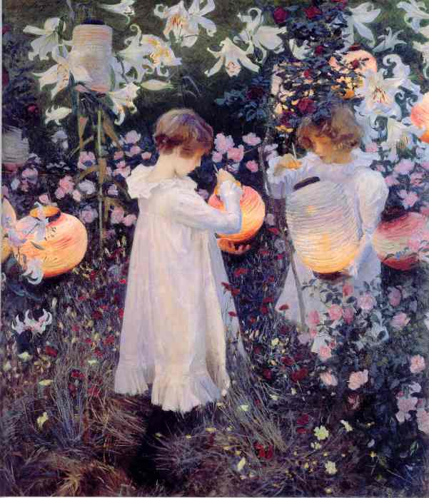 """Carnation, Lily, Lily, Rose"" by John Singer Sargent"