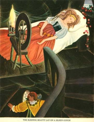 "Tenggren's ""Sleeping Beauty"""