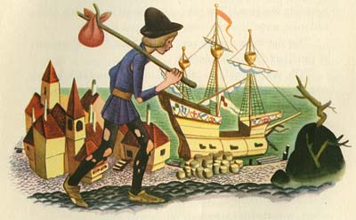 "Gustaf Tenggren ""Tell It Again Book""illustration"