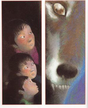Lon Po Po (inside illustration)