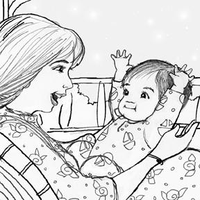 """""""Priscilla Garcia Burris Sketch"""""""