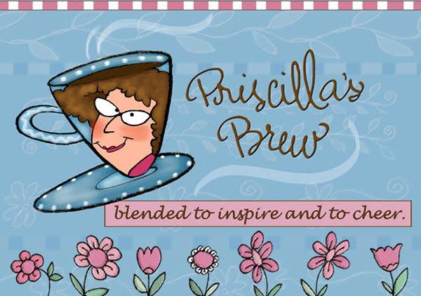 Priscilla's Brew Blog Banner
