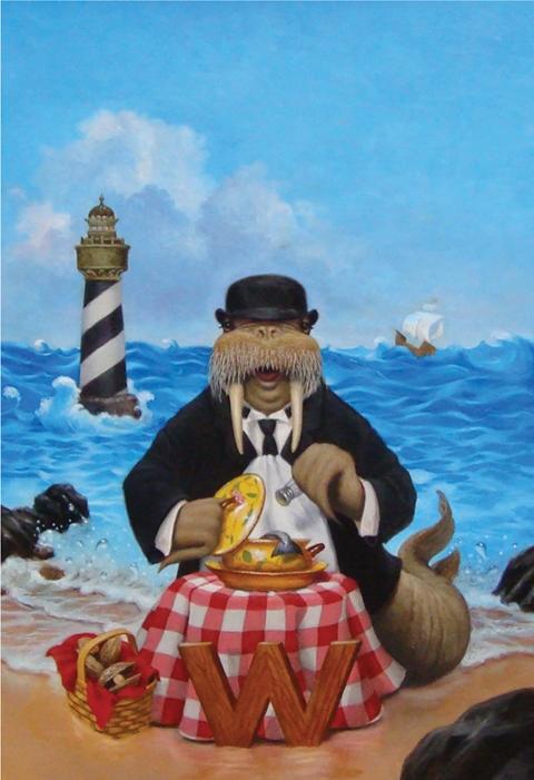 Walrus by Lisa Falkenstern