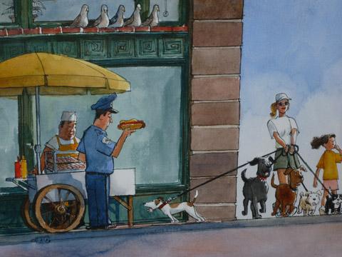 Larry Day illustration