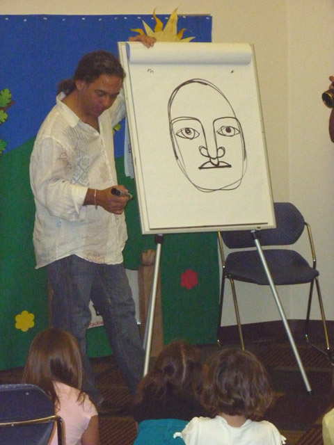 David Diaz draws