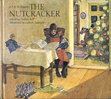 "Lisbeth Zwerger's cover for ""The Nutcracker"""