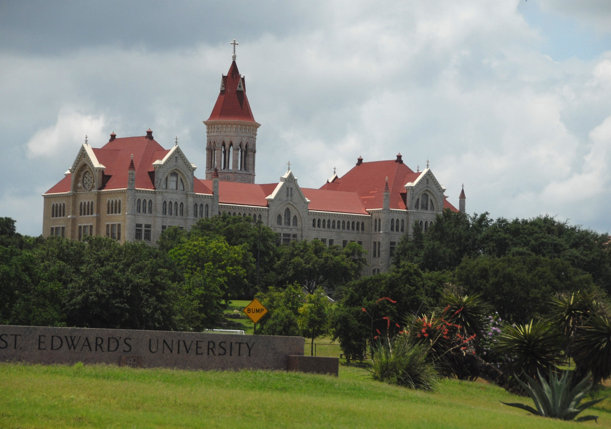 St. Edwards University campus in Austin, Texas