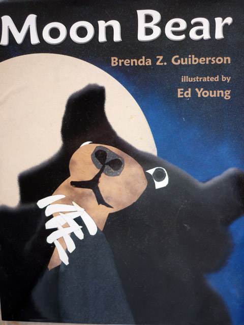 """Moon Bear"" by Brenda Z. Guiberson and illustrated by Ed Young"