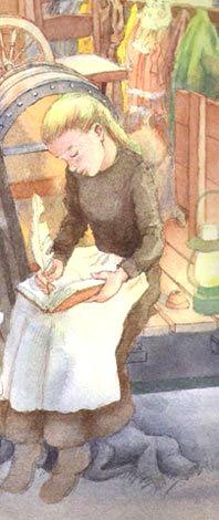 Sally Hester, Pioneer girl