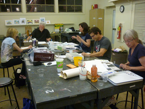 Children's Book Illustration Class at AMOA Art School