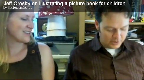 Author-illustrators Shelley Ann Jackson and Jeff Crosby