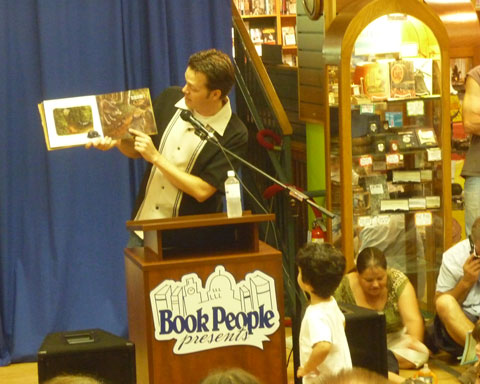 """Author-illustrator Jeff Crosby reads from """"Wiener Wolf"""""""
