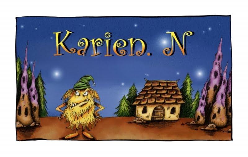 Karien's blog banner