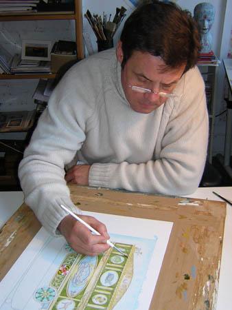 Author-illustrator Peter Sis