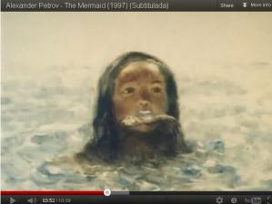 """The Mermaid"" by animator Aleksandr Petrov"