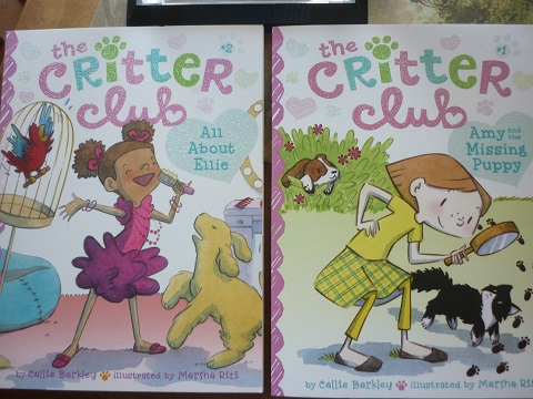 The Critter Club books (first two) illustrated by Marsha Riti of Austin SCBWI